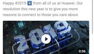 Huawei sanciona a empleados por enviar tweet desde un iPhone