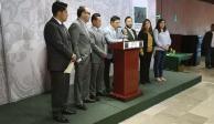 Ricardo Gallardo, coordinador legislativo, y 9 diputados, renuncian al PRD