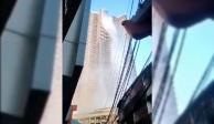 VIDEO: Rascacielos se convierte en cascada por sismo en Filipinas