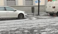 LLuvia y granizada sorprenden a poblanos (VIDEOS)