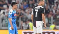Cristiano Ronaldo le da su 'bienvenida' al Chucky Lozano