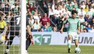 Diego Lainez regresa a la titularidad con el Betis después de 10 meses