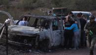 Funerales de integrantes de familia LeBarón se realizan en Bavispe