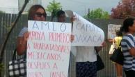 Personal de Capufe protesta tras anuncio de cierre de gerencia en Oaxaca