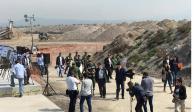 AMLO revisa obras de nuevo aeropuerto en Santa Lucía