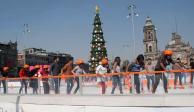 Pista de patinaje del Zócalo de la CDMX: todo lo que tienes que saber