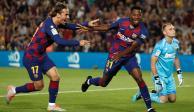 Barcelona golea al Valencia y Ansu Fati anota a sus 16 años