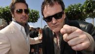 Brad Pitt y Quentin Tarantino, de visita en la Ciudad de México