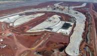 Encuentran depósitos de combustible robado en terrenos del NAIM