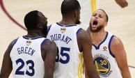 La NBA multa a Curry, Durant y Green por insultar a un árbitro
