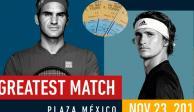 Boletos para ver a Federer en la Plaza México, hasta $57 mil en reventa