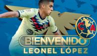¡Oficial! Leonel López es flamante refuerzo del América