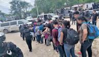 Rescatan a 107 migrantes de origen centroamericano en Tamaulipas