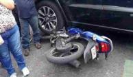 Video: Atropellan a motociclistas en la Cuauhtémoc