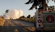 Por fuga de gas LP cierran autopista Puebla-Acatzingo