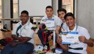 Robot bombero del Conalep representará a México en Mundial de robótica