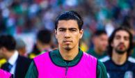 Erick Gutiérrez es baja del Tricolor por fractura en la mano derecha