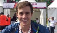 Mauricio Méndez: triatleta que piensa cambiar de disciplina tras el Maratón