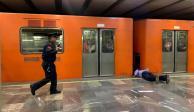 PGJ investiga muerte de mujer en Línea 2 del Metro