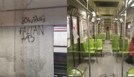 Detienen a seis anarquistas que causaron destrozos en el Metro