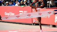 Brigid Kosgei rompe record mundial femenino en maratón