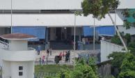Despliegan más de 100 agentes en estación migratoria de Chiapas