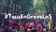 Francia se prepara para enfrentar huelga general por pensiones