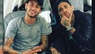 Dani Alves apuesta la Torre Eiffel a que se queda Neymar