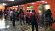 Detienen a Policía Federal en el Metro por presunto abuso sexual