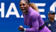 En dos sets, Serena Williams elimina a Petra Martic del US Open