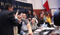 """Tengo derecho a manifestarme pacíficamente"", asegura Gustavo Madero"