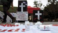 AMLO admite desabasto de medicinas; pide tiempo para remediar