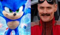 """""""Sonic: The Hedgehog"""", tráiler, Jim Carrey, película, estreno, cine, personaje, SEGA,, doblaje,Luisito Comunica, Dr. Robotnik"""