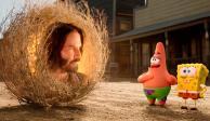 """Lanzan nuevo trailer de """"Bob Esponja: Al rescate""""... con Keanu Reeves"""