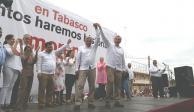 Alista gobernador de Tabasco Informe por primer año de actividades
