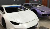 Piratería sobre ruedas: fabricaban clones de Lamborghini y Ferrari