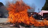 Otra vez, queman boletas de consulta sobre Termoeléctrica en Amilcingo