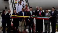Arriba al aeropuerto de Toluca primer vuelo procedente de Venezuela