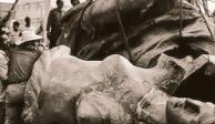 Hoy, hace 62 años, cayó Ángel de la Independencia tras un temblor