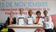 Guerrero firma convenio para implementar la perspectiva de género en educación básica