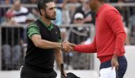 Abraham Ancer pierde ante Tiger Woods en Presidents Cup