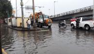 Lluvias inundan, una vez más, el oriente de la Ciudad de México