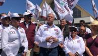 Yeidckol, Delgado, Padierna y Peralta celebran llegada de 4T a BC