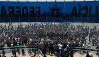 Policías federales esperan llegar a un acuerdo el lunes