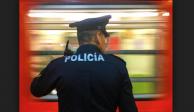 Dejan inconsciente a policía en estación Salto del Agua del Metro