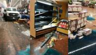 Sujetos armados, tienda, departamental, Walmart, Celaya, Guanajuato, sujetos armados, comando, camioneta, cajero automático,