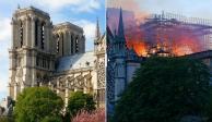 INTERACTIVO: Antes y después del incendio en Catedral de Notre Dame