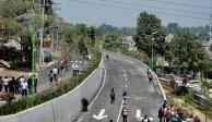 Reabren carretera Xochimilco-Tulyehualco, cerrada tras sismo del 19S