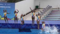 Cuatro nadadoras mexicanas, en terapia intensiva por quemaduras