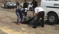 Hallan 11 bolsas con restos humanos en Tlajomulco, Jalisco